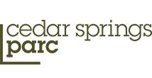 Cedar Springs PARC logo