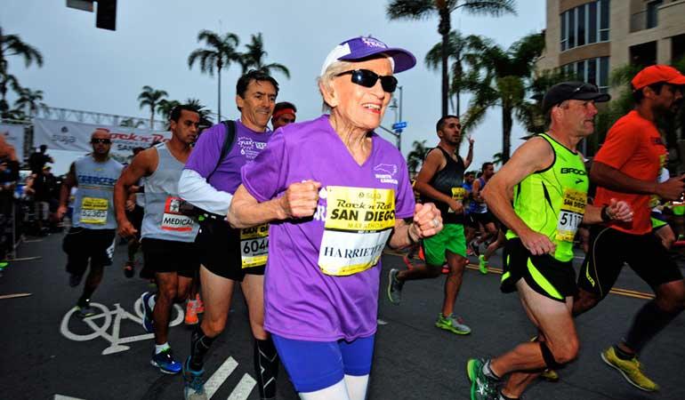 90-Year-Old Marathon Runner Hariette