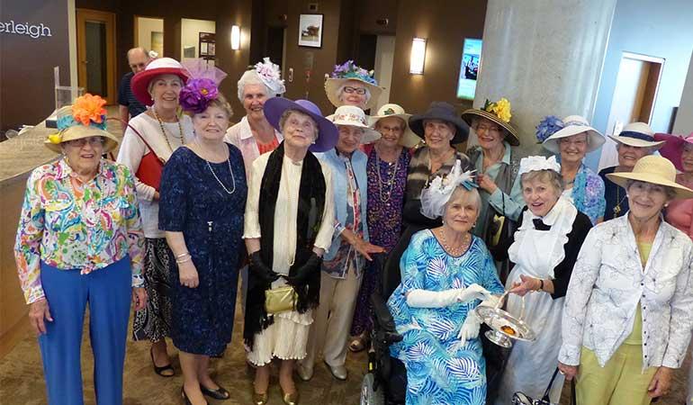 Westerleigh PARC Downton Abbey Tea Party Residents