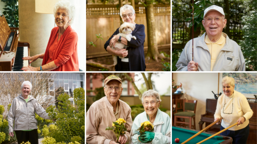 PARC Retirement Living Real Life Residents