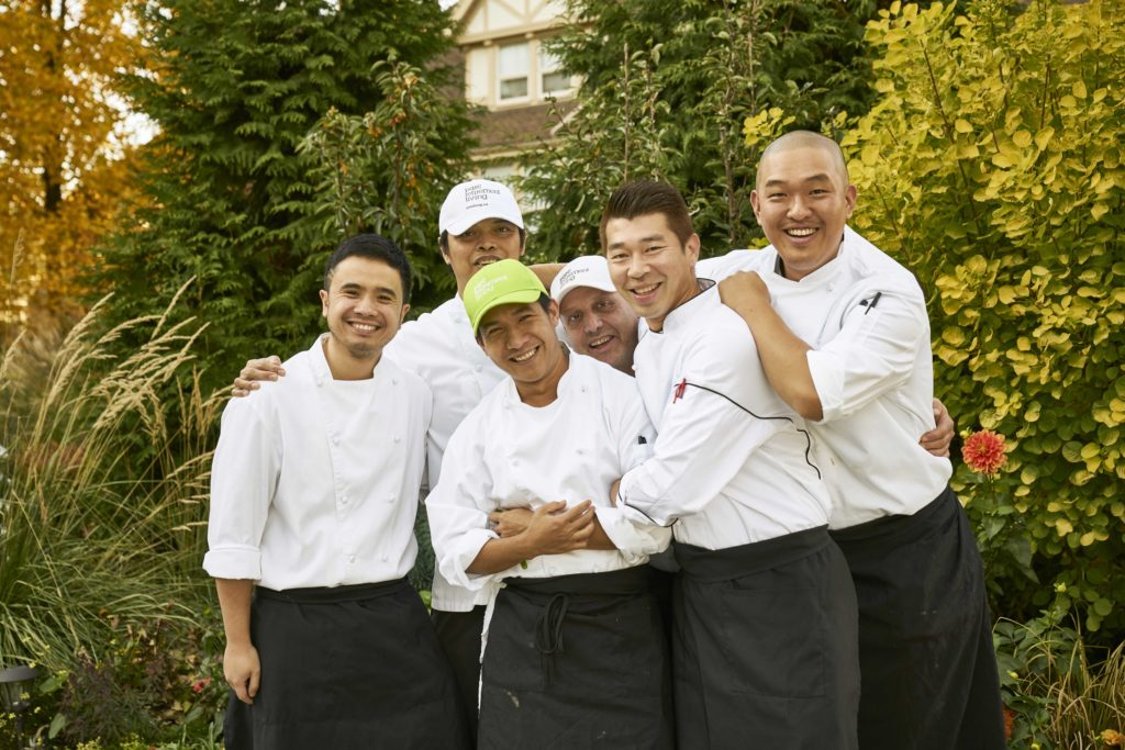 Westerleigh PARC Chefs smiling