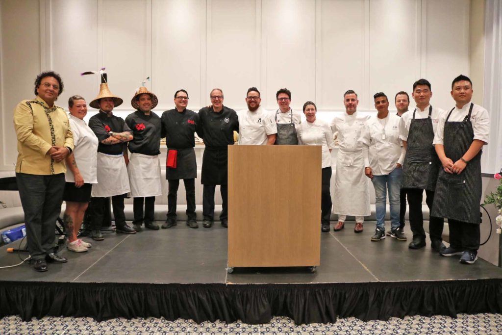 Celebrity Chefs at Chefs for the Pier