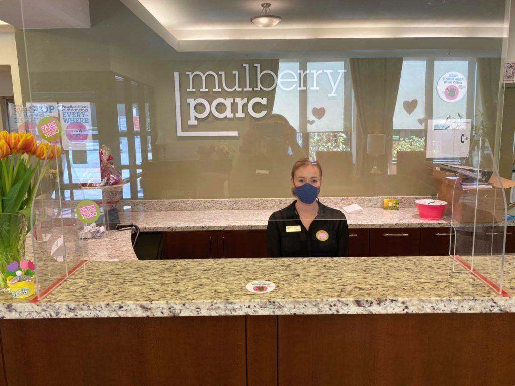 Mulberry PARC reception area
