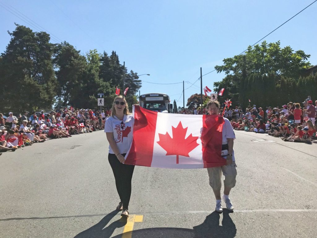 Summerhill PARC Canada Day parade