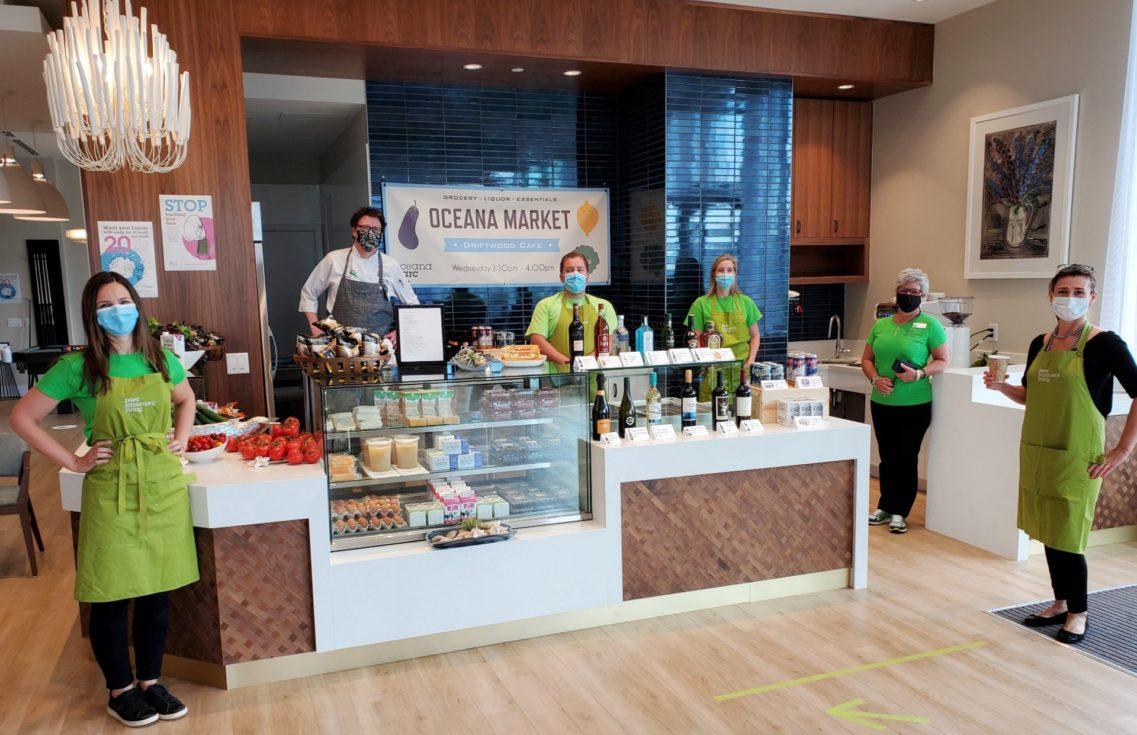 Oceana PARC in-house market