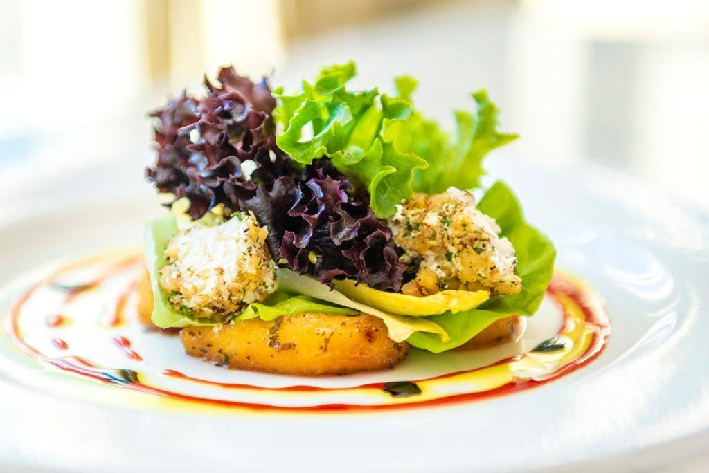 Chef-prepared salad