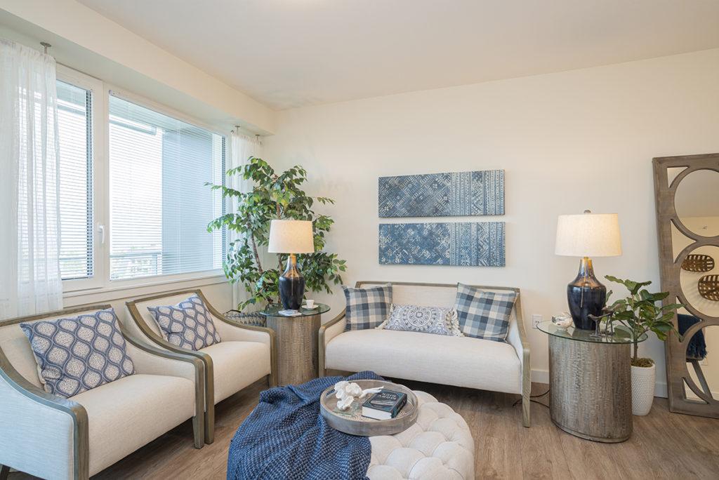 Oceana PARC suite living room