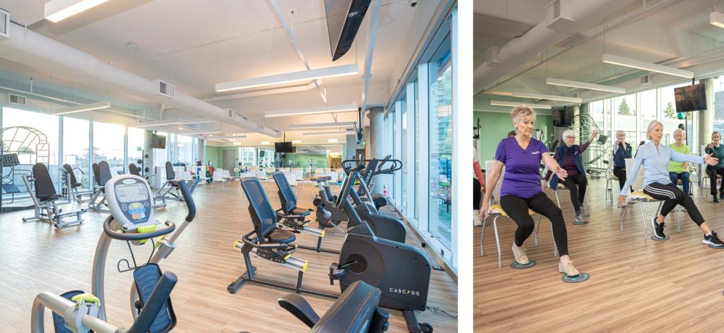 Oceana PARC fitness centre