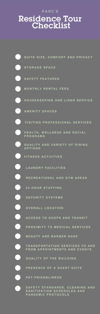 resident checklist graphic
