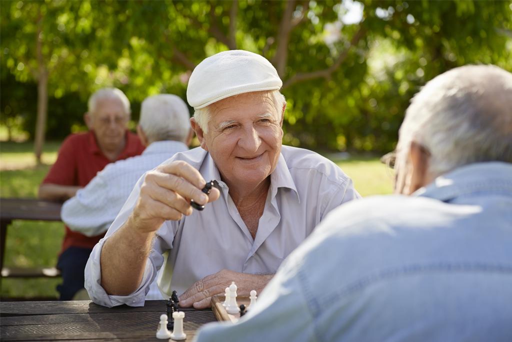 PARC Gentlemen Playing Chess