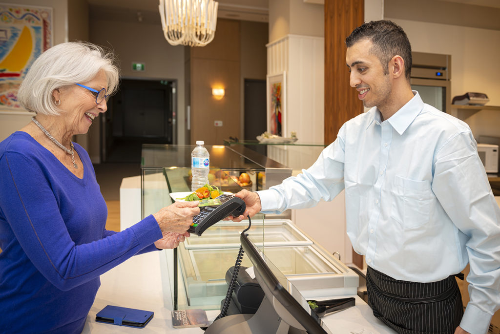 PARC Residents buying snacks at Oceana