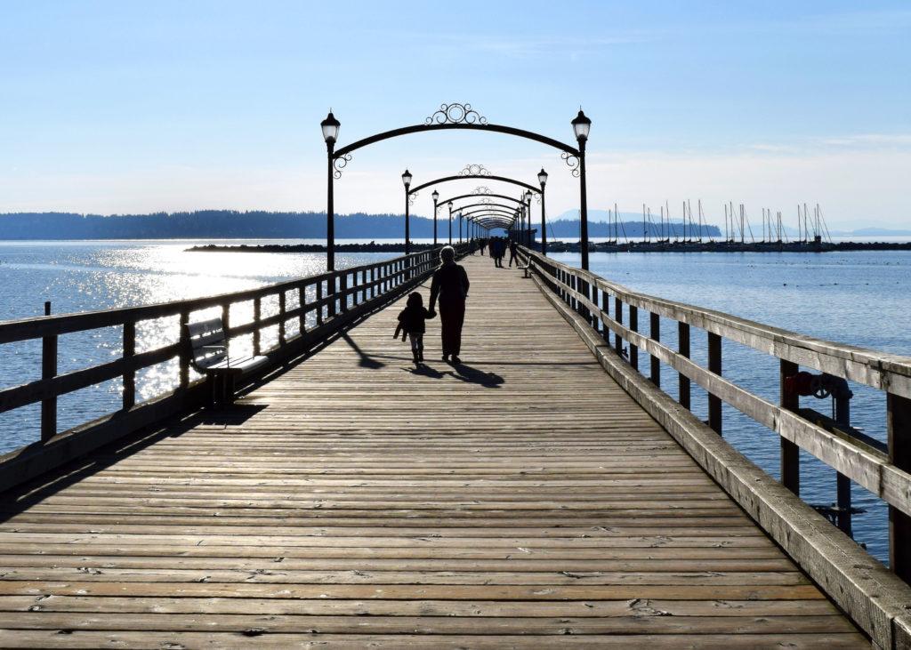 White Rock Pier photo