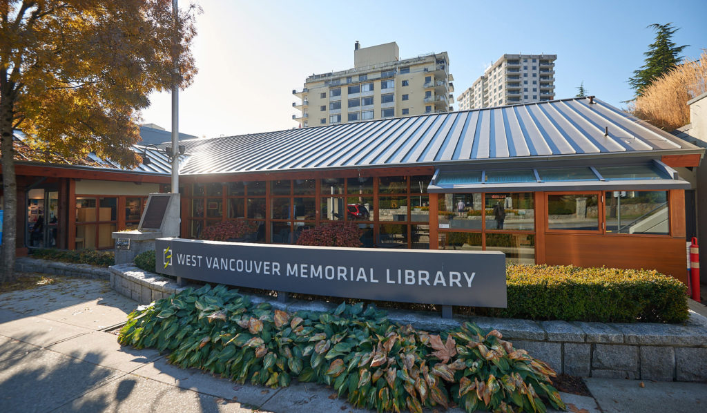 West Vancouver Library Exterior Building Image